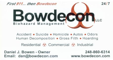 Bowdecon LLC Business card