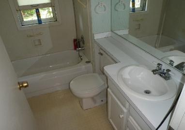 Gross filth bathroom after cleaning & decontamination