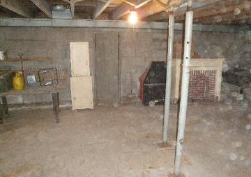 Hoarder basement following remediation